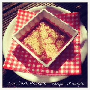 Low Carb Crumble close