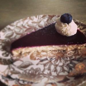 New York Cheesecake  aufgeschnitten