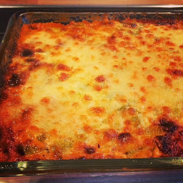 Veggie Lasagne ganz