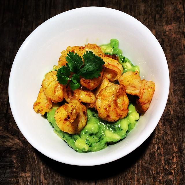 Orangen-Curry-Garnelen mit Avodaco-Salsa Titel2