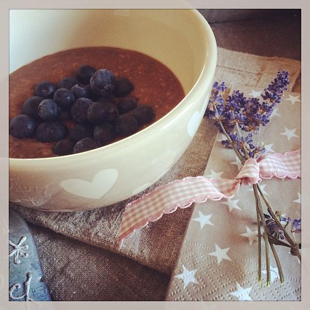 Porridge Chia Lavendel