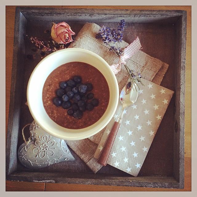 Porridge Chia Tablett ganz