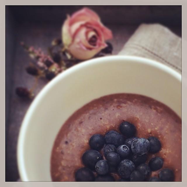 Porridge Chia close