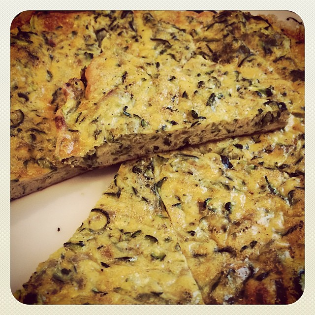 Schnelle gesunde Frittata aus dem Ofen