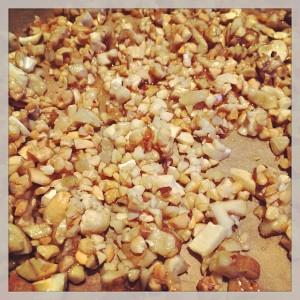 gebrannte Nüsse