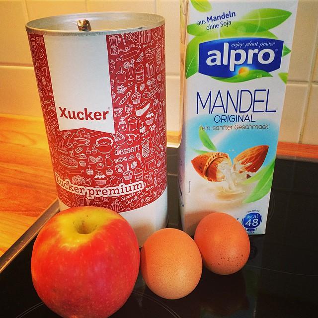 Apfel-Kaiserschmarrn Zutaten