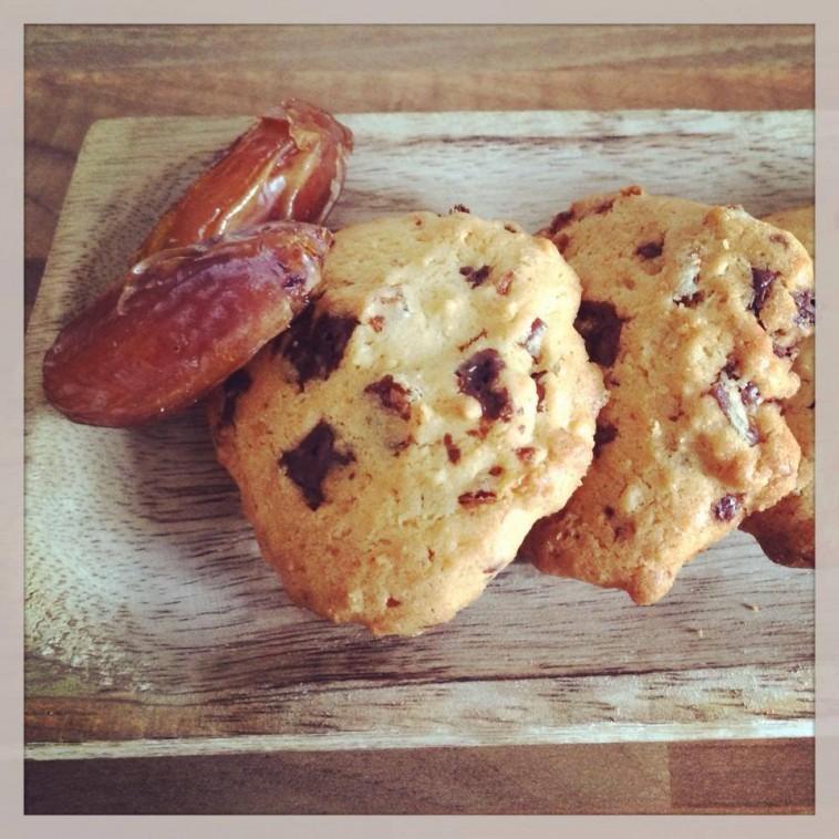 Dattel-Cookies mit Honig