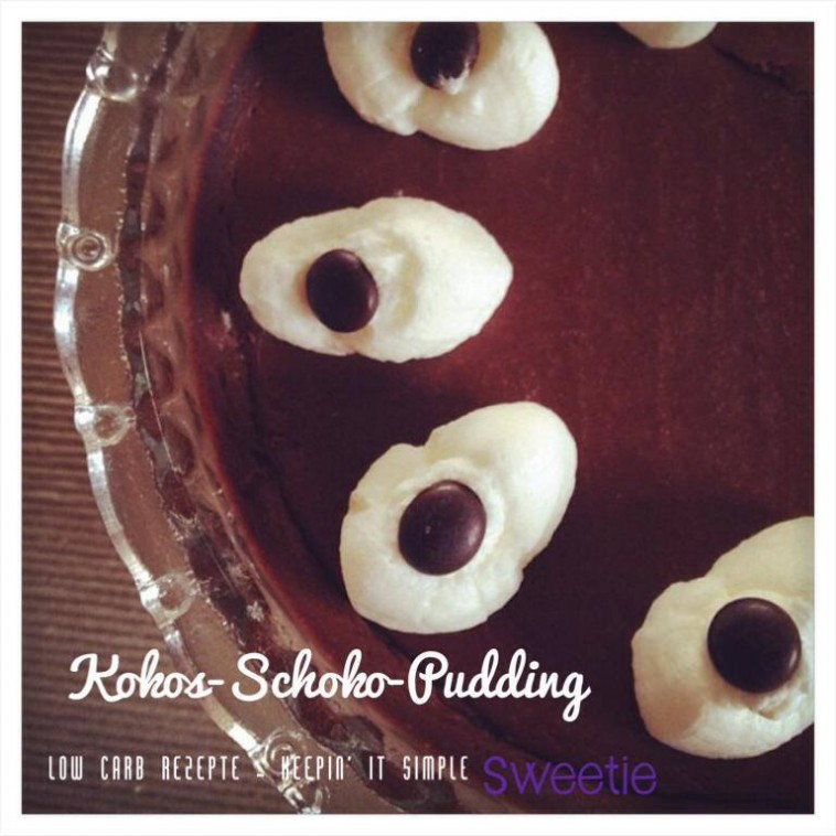Kokos-Schoko-Pudding low carb