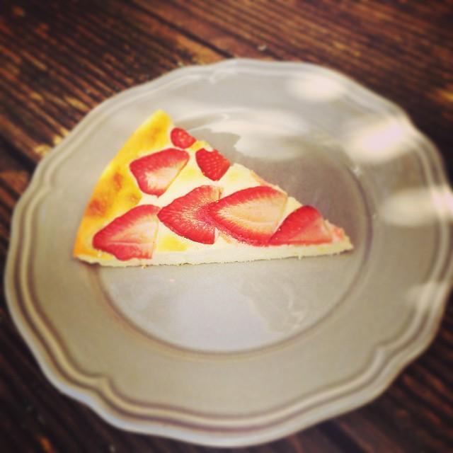 Strawberry Cheesecake Stück