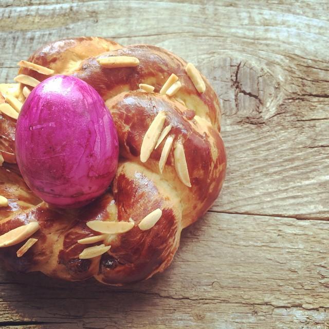 Hefenester mit Ei