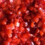 Yoghurette  Erdbeeren kleine Würfel