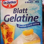 Yoghurette  Gelatine