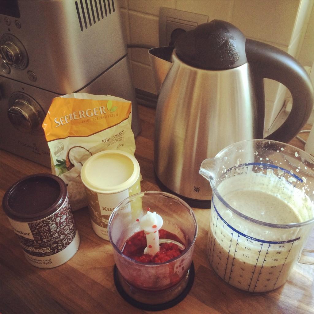 Joghurt eiskalt making of