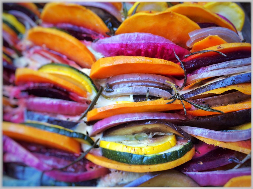 Gemüseauflauf Detail