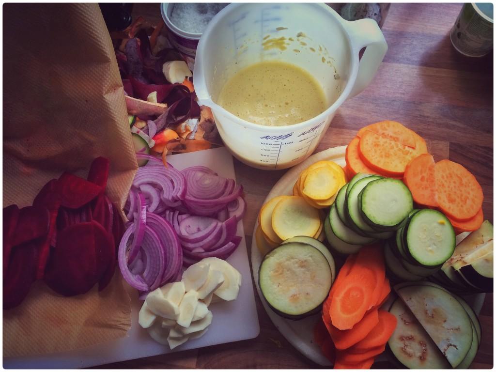 Gemüseauflauf Zubereitung 1