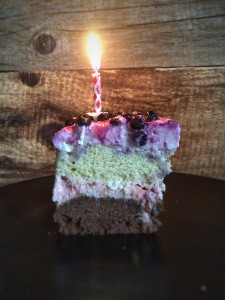 Happy Birthday Cake Stuck Mit Kerze Kochfee 20