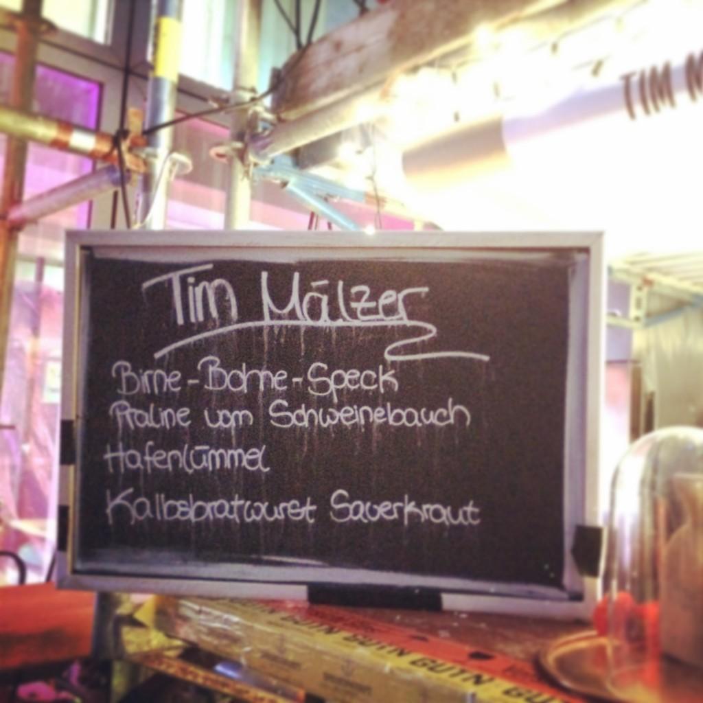 Pret a diner Tim MÄlzer