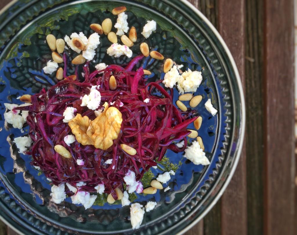 Rotkohl-Salat 10
