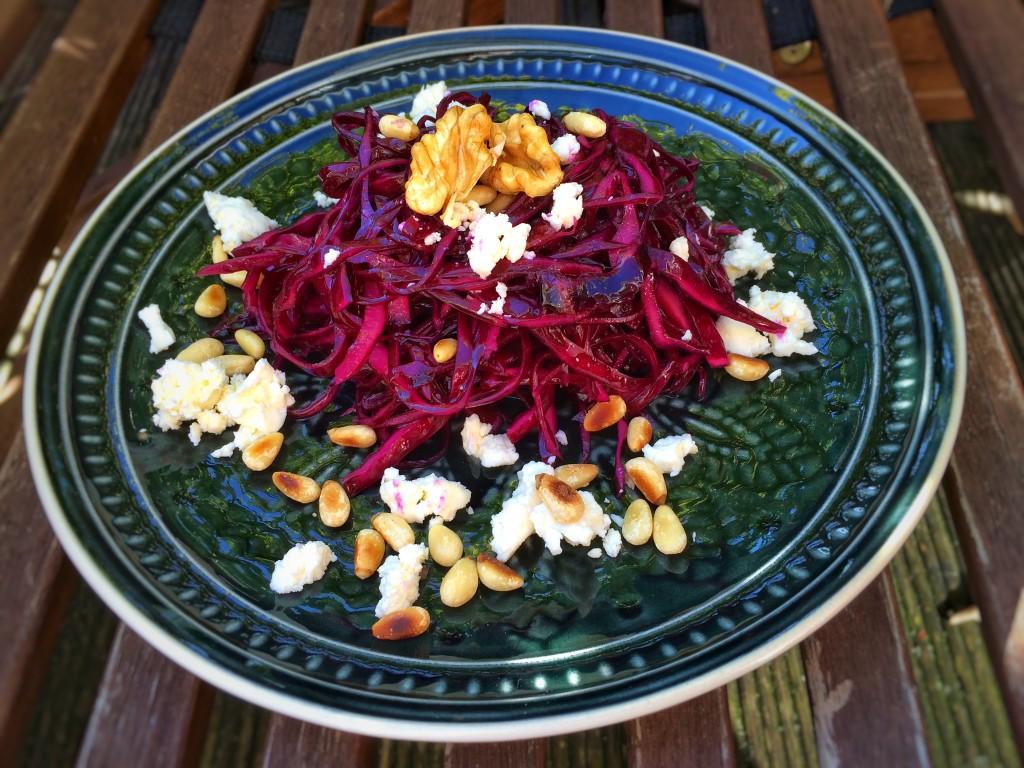 Rotkohl-Salat 11