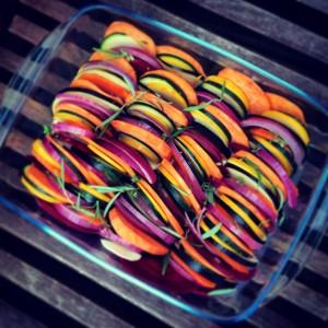 Rotkohl-Salat 3