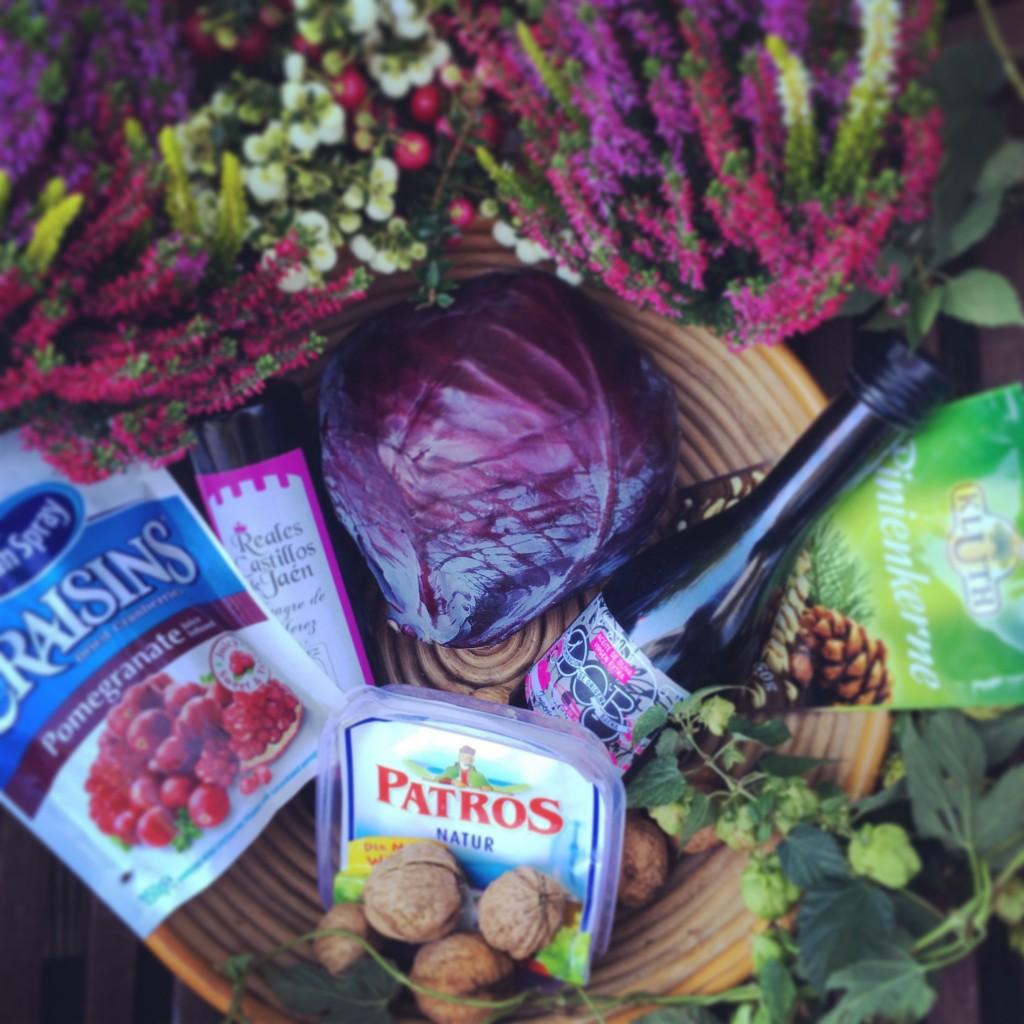 Rotkohl-Salat 6 zutaten