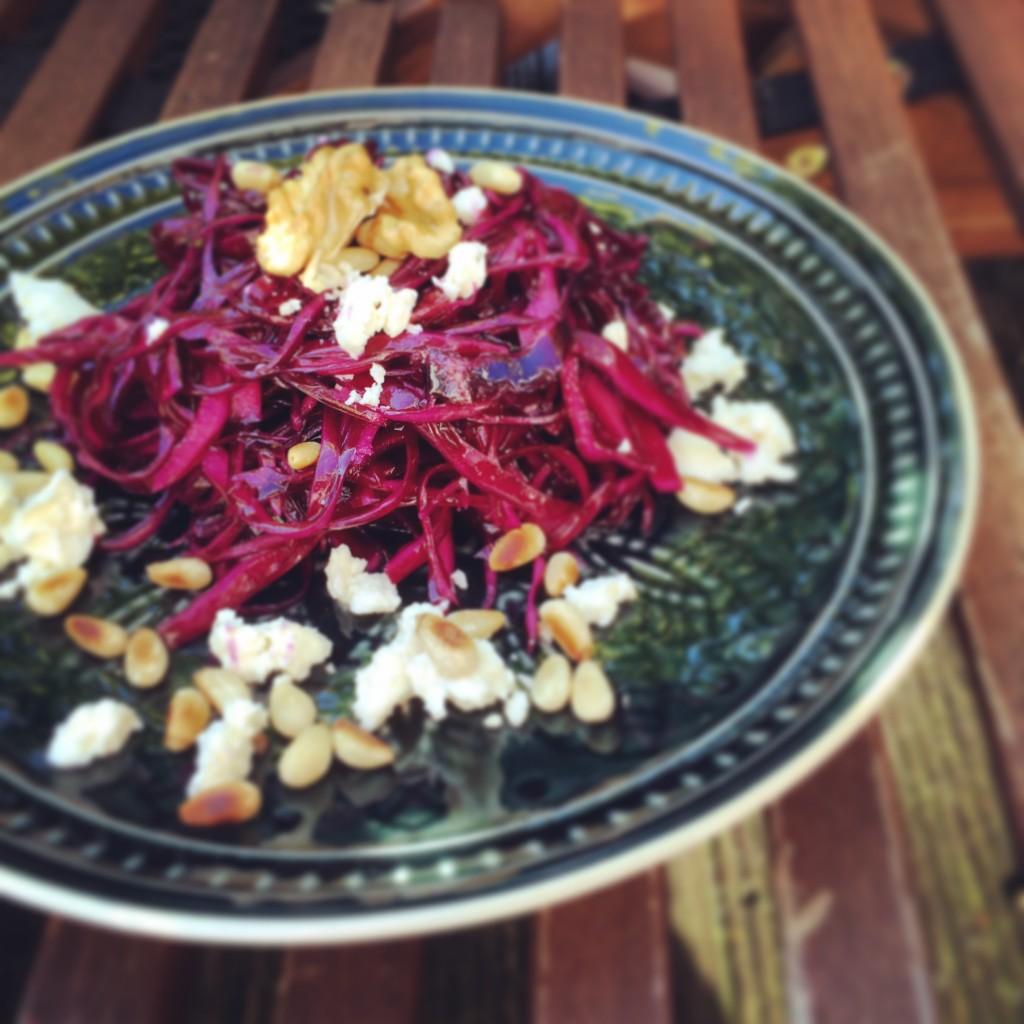 Rotkohl-Salat 7