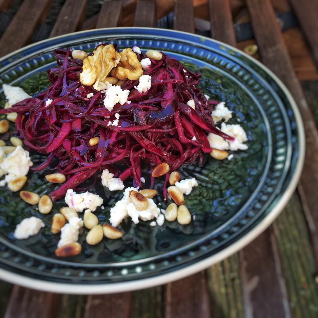 Rotkohl-Salat 9