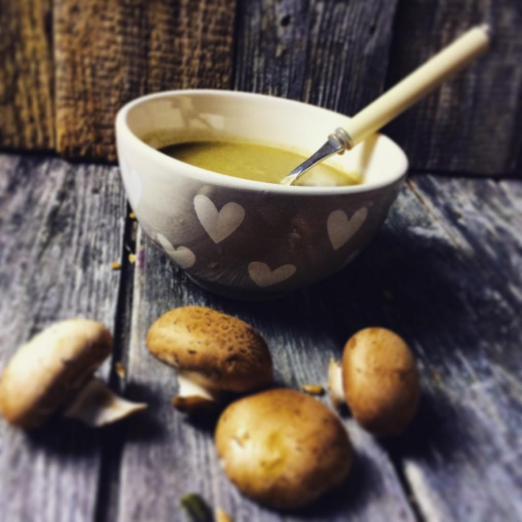 Champignon Suppe 2