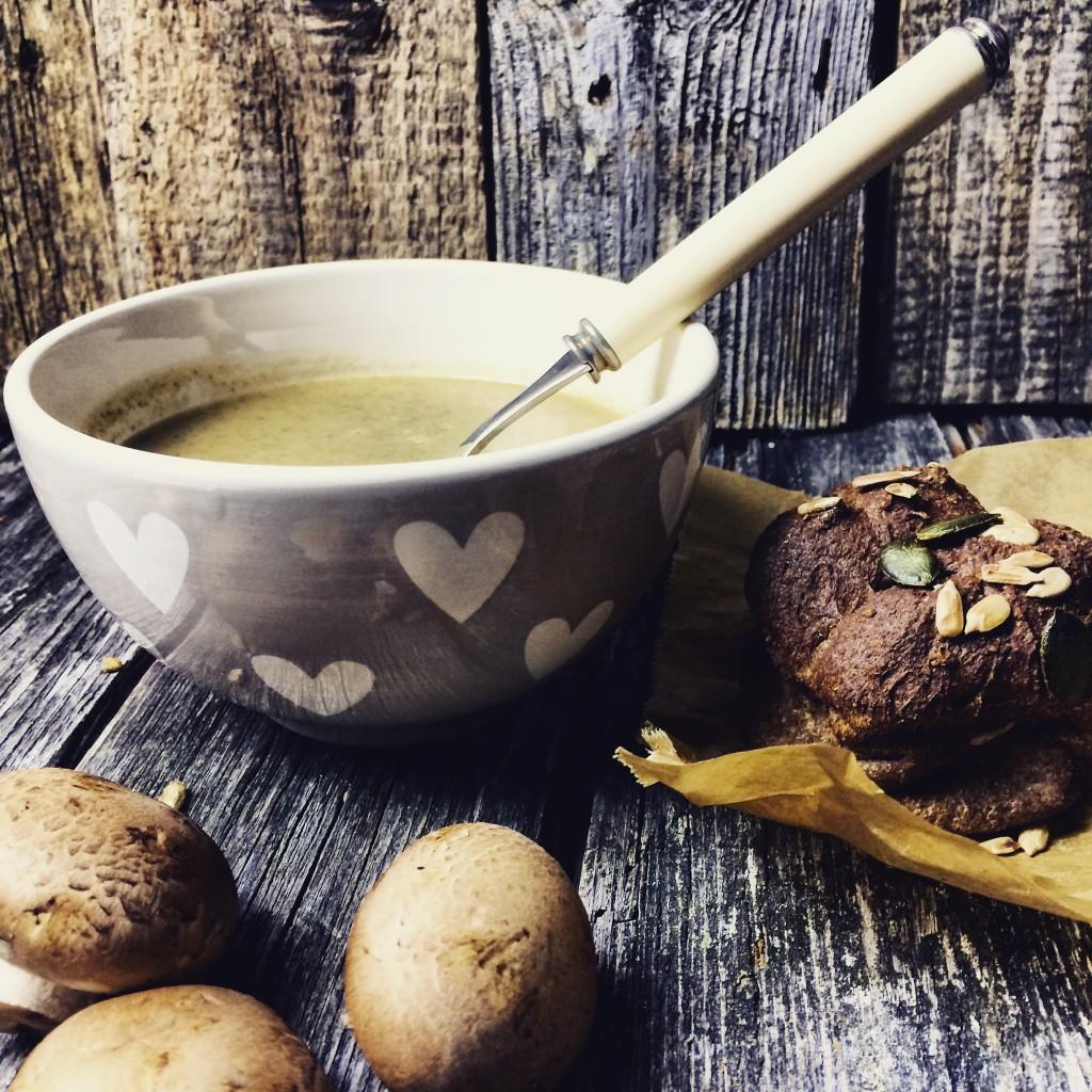 Champignon Suppe 3