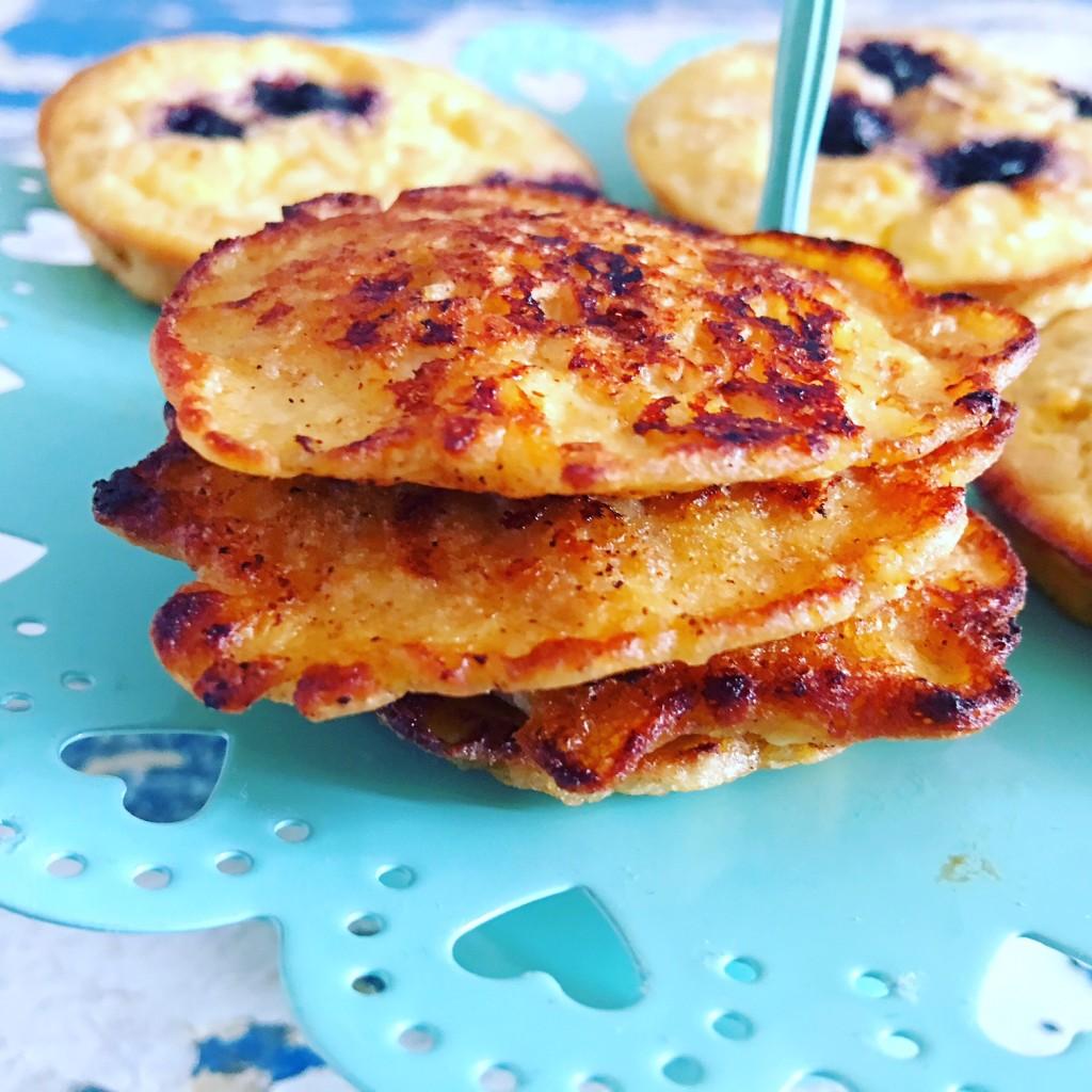 Pancakes Hüttenkäse 1