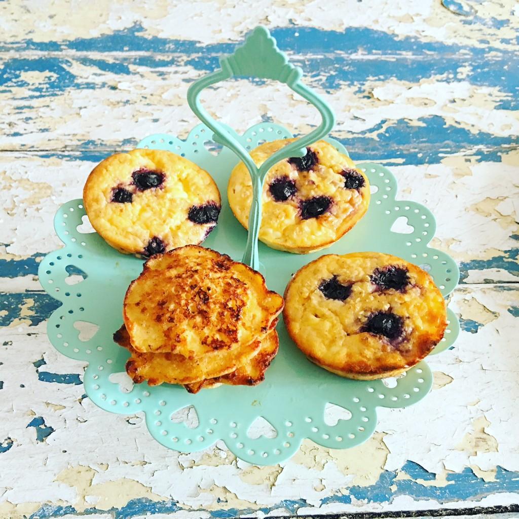 Pancakes Hüttenkäse 7