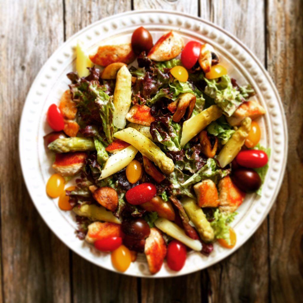 Gorgonzola Salat 1