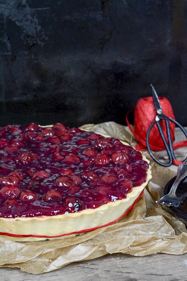 Marzipan Kirsch Pie-7