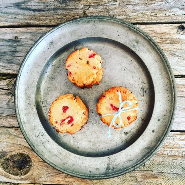 Erdbeer Cookies 6