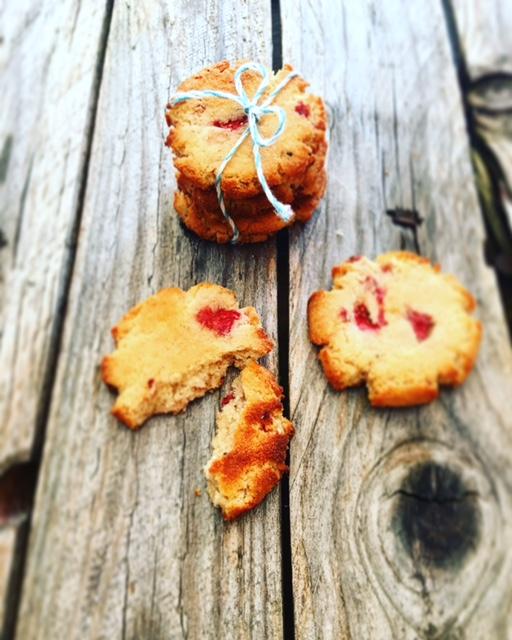 Erdbeer Cookies 8