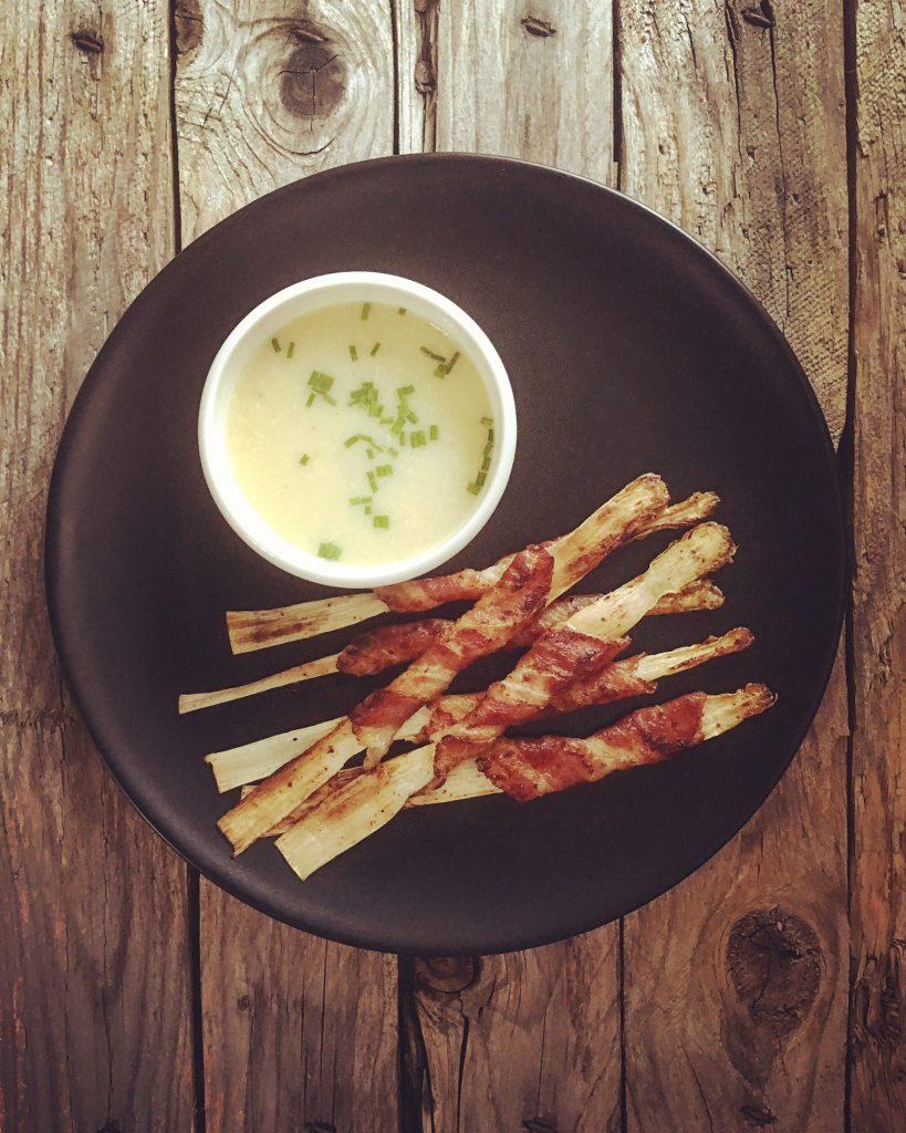 Gebratener Spargel mit Bacon 1