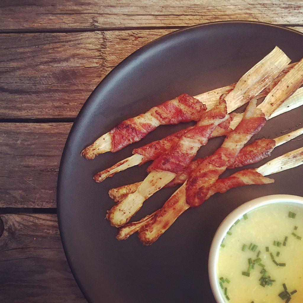 Gebratener Spargel mit Bacon 2