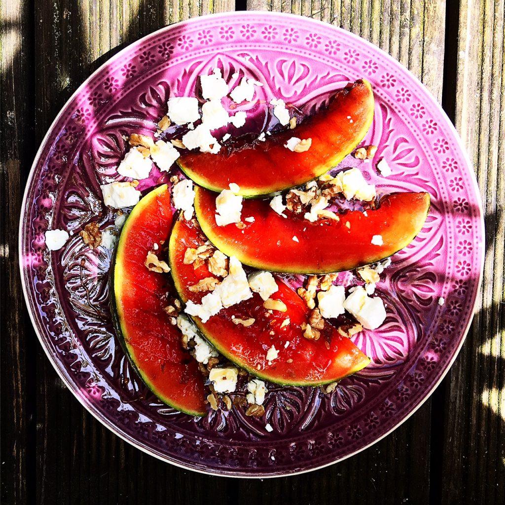 Gegrillte Melone 1