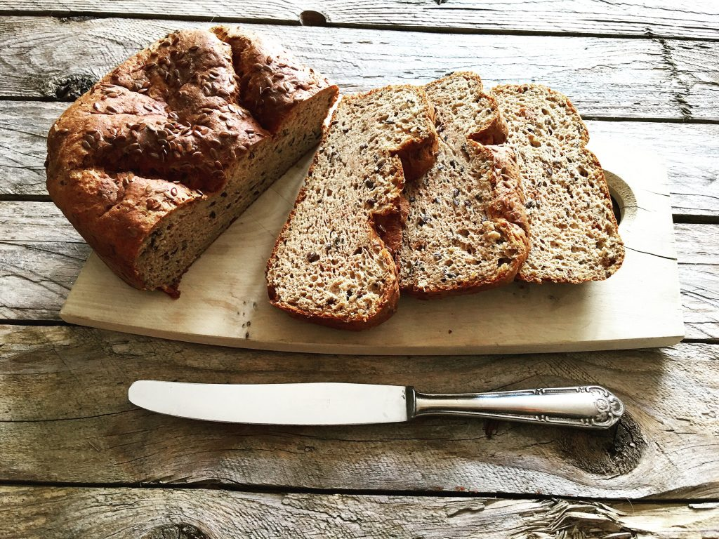 Low Carb Sandwichbrot mit Leinsamen 2