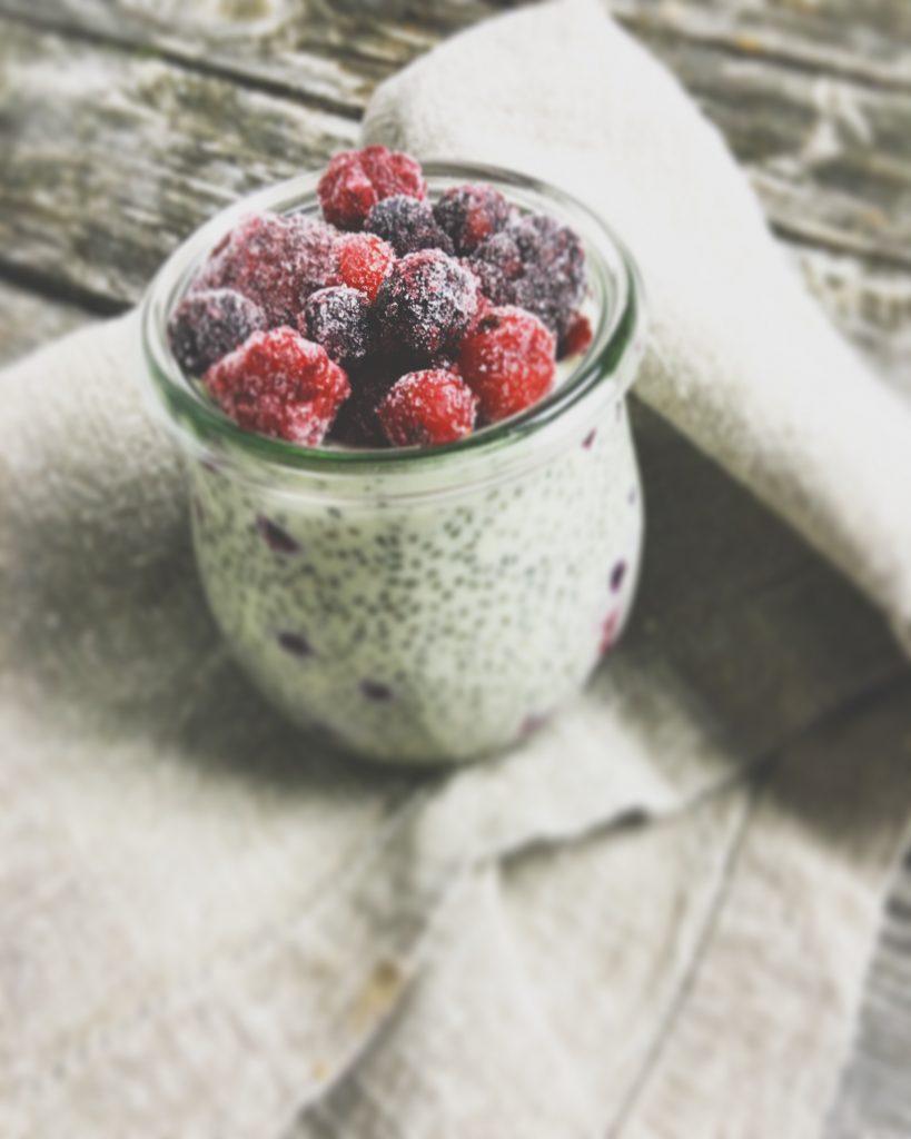 Chiapudding Früchte 2