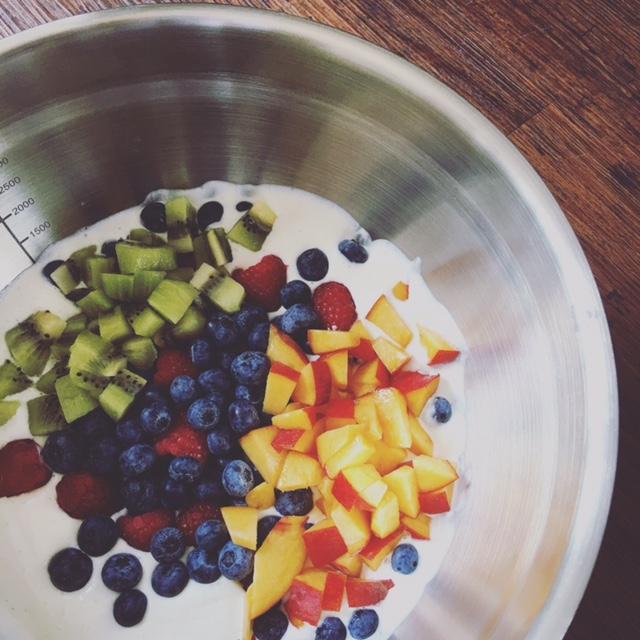 Frozen Yoghurt ohne Eismaschine 1