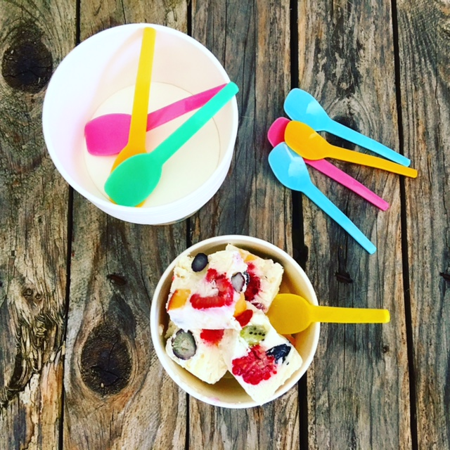 Frozen Yoghurt ohne Eismaschine 4