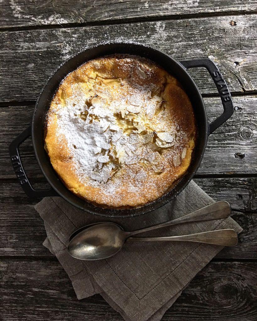auflauf-mit-aepfeln-und-mandeln-gebacken