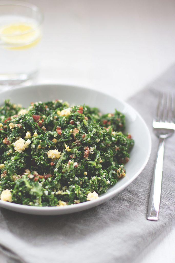 Proteinsalat mit Grünkohl