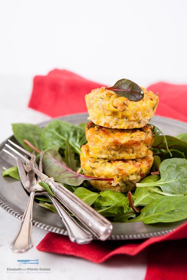 Kichererbsen-Muffins