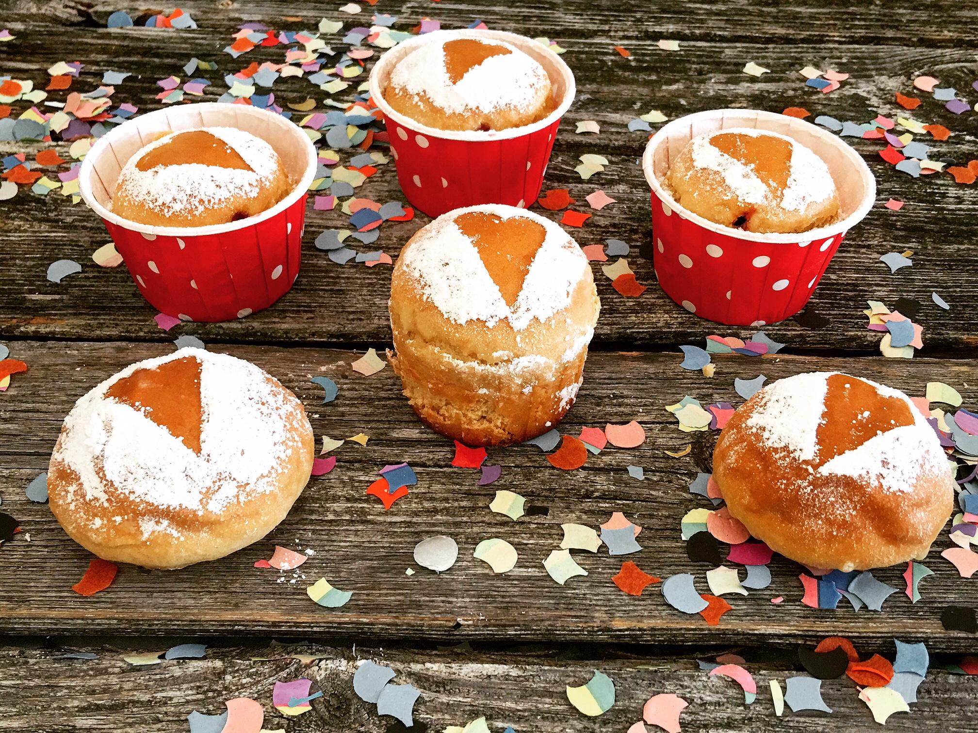 Krapfen Cupcakes Fasching.JPG