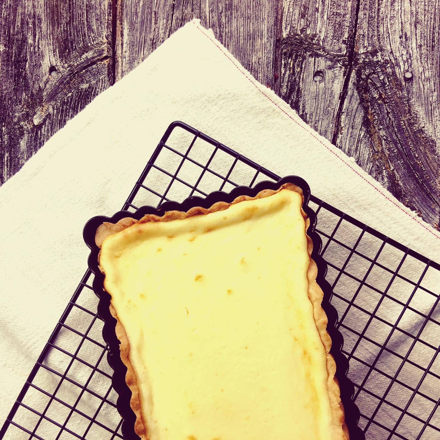 Käsekuchen Low Carb mit weißer Schokolade