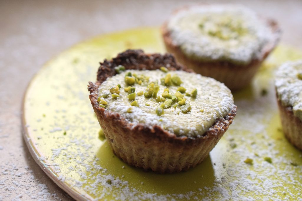 Quark-Matcha-Muffins Low Carb Lachfoodies