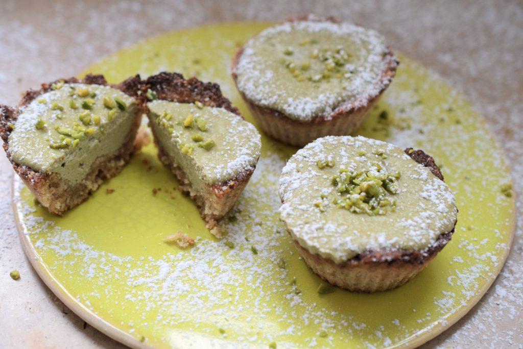 gef llte low carb quark muffins mit matcha ohne mehl und zucker. Black Bedroom Furniture Sets. Home Design Ideas