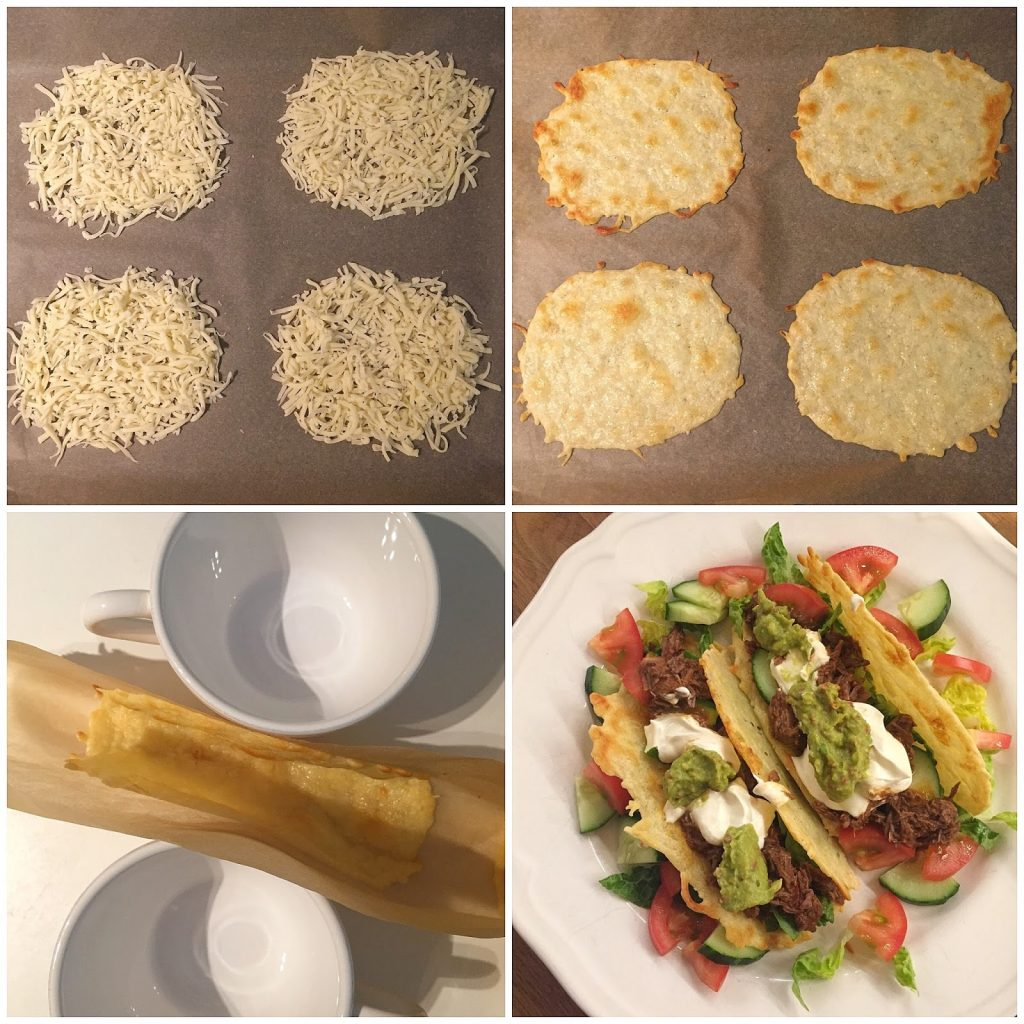 Tacoschalen Low Carb Zubereitung